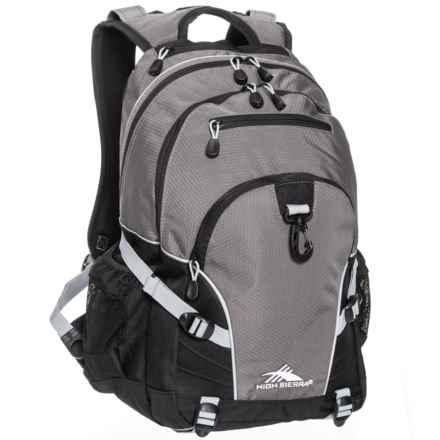 High Sierra Sierra Loop Backpack in Slate/Black/Ash - Closeouts