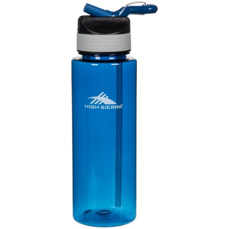 High Sierra Single Wall Tritan® Water Bottle - 31 oz. in Blue