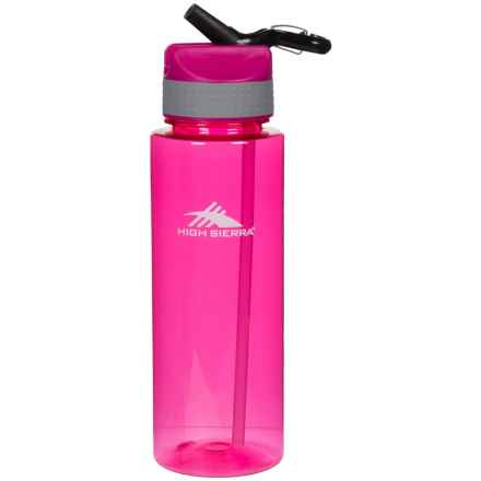 High Sierra Single Wall Tritan Water Bottle - 31 oz. in Fushia - Closeouts