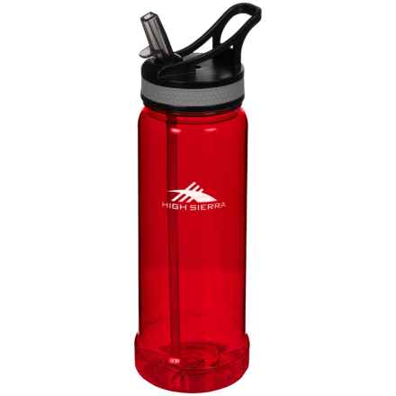 High Sierra Single Walled Tritan® Water Bottle - 22 oz. in Red - Closeouts