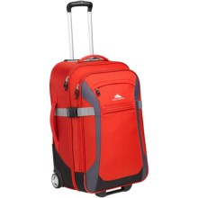 """High Sierra Sportour Rolling Upright Suitcase - 30"""" in Red/Mercury/Black - Closeouts"""