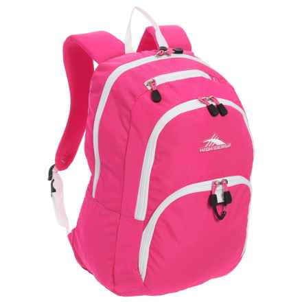 High Sierra Sumner Backpack - 30L in Flamingo/White - Closeouts