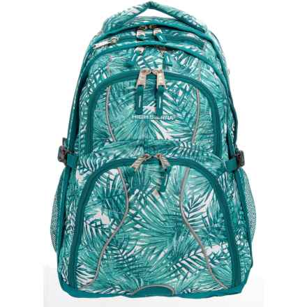 High Sierra Swerve 31L Backpack in Palms/Lagoon - Closeouts
