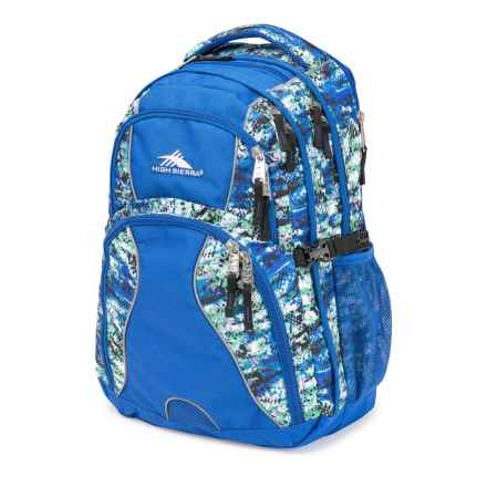 High Sierra Swerve Backpack in Python/Vivid Blue - Closeouts
