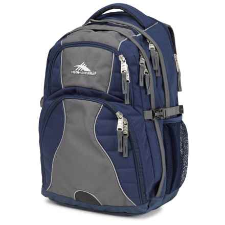 High Sierra Swerve Backpack in True Navy - Closeouts