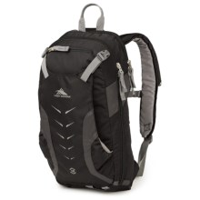High Sierra Symmetry 18 Snowsport Backpack in Black/Mercury/Charcoal - Closeouts