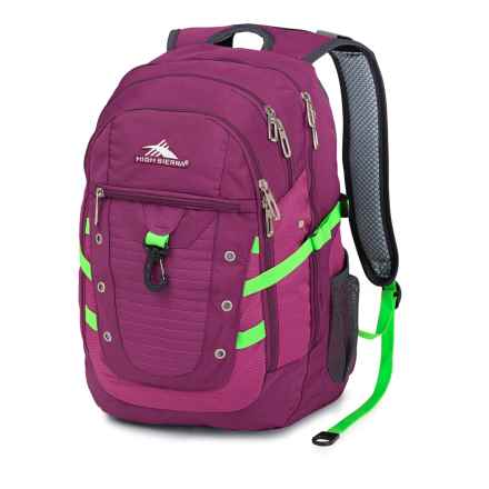 High Sierra Tactic Backpack in Berry Blast/Razzmatazz - Closeouts