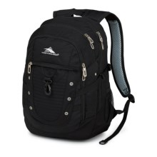 High Sierra Tactic Backpack in Black - Closeouts