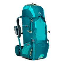 High Sierra Tech 2 Hawk 45 Backpack (For Women) in Sea/Tropic Teal/Zest - Closeouts