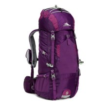 High Sierra Tech 2 Lightning 35 Backpack - Internal Frame (For Women) in Eggplant/Berry Blast/Lime - Closeouts