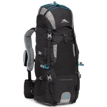 High Sierra Tech 2 Lightning 35 Backpack - Internal Frame in Black/Charcoal/Pool - Closeouts