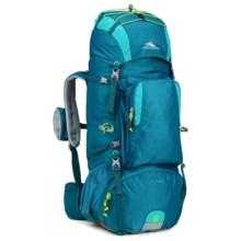 High Sierra Tech 2 Titan 55 Backpack - Internal Frame (For Women) in Sea/Tropic Teal/Zest - Closeouts