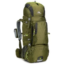 High Sierra Tech 2 Titan 55 Backpack - Internal Frame in Moss/Mercury/Chartreuse - Closeouts
