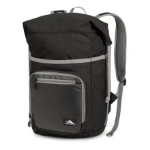 High Sierra Tethur Backpack in Black/Charcoal - Closeouts