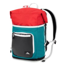 High Sierra Tethur Backpack in Sea/Crimson/Black/White - Closeouts