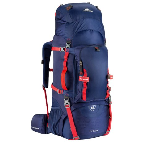 High Sierra Titan 65l Frame Backpack Save 50