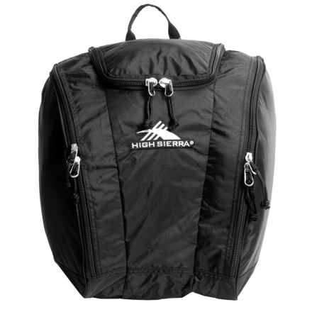 High Sierra Trapezoid Boot Bag in Black - Closeouts