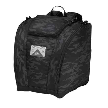 High Sierra Trapezoid Boot Bag in Stealth/Black - Closeouts