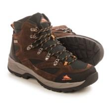 High Sierra Trekker Hiking Boots - Waterproof (For Men) in Brown/Black - Closeouts