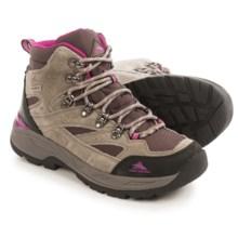 High Sierra Trekker Hiking Boots - Waterproof (For Women) in Brown/Fuchsia - Closeouts