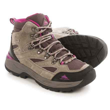 High Sierra Trekker Hiking Boots - Waterproof (For Women) in Brown/Fuchsia - Closeouts