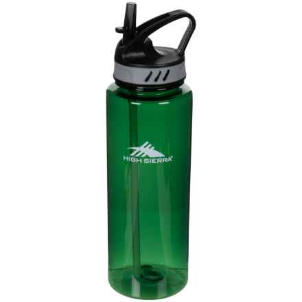 High Sierra Tritan Water Bottle - 34 oz. in Green - Closeouts