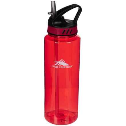 High Sierra Tritan Water Bottle - 34 oz. in Red - Closeouts