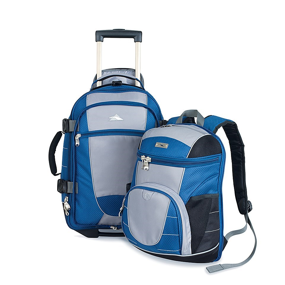 High Sierra Ultimate Access Rolling Carry-On Backpack - Save 41%