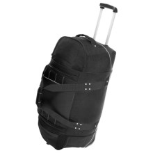 "High Sierra Ultimate Access Wheeled Duffel Bag - 30"" in Black - Closeouts"