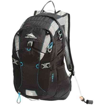 High Sierra Vimba 18L Hydration Pack - 70 fl.oz. in Black/Charcoal/ - Closeouts