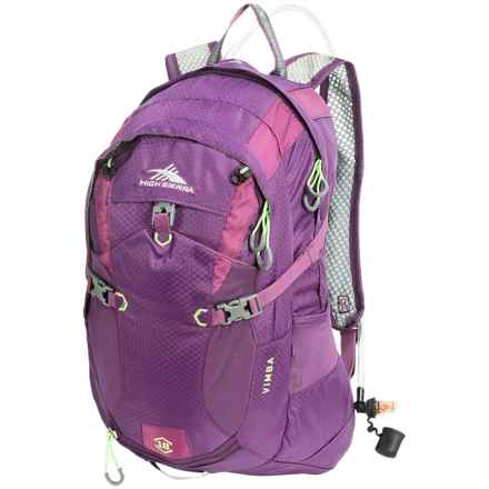 High Sierra Vimba 18L Hydration Pack - 70 fl.oz. in Eggplant/Berry - Closeouts