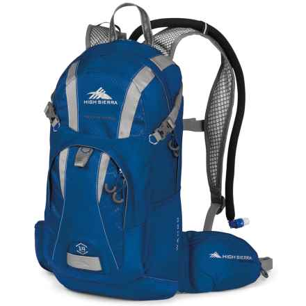 High Sierra Wahoo 14L Hydration Pack in Royal Cobalt/Silver - Closeouts