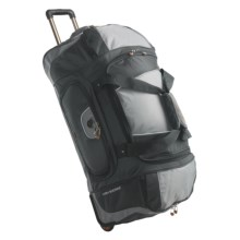 "High Sierra Wheeled Duffel Bag - 30""  in Carbon Grey - Closeouts"
