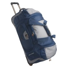 "High Sierra Wheeled Duffel Bag - 30""  in Pacific Blue - Closeouts"