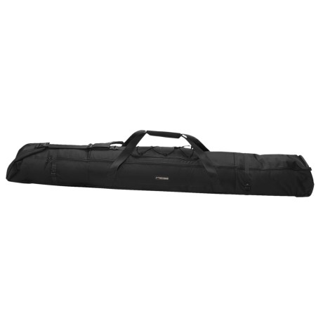 High Sierra Wheeled Ski Bag - Double Expandable in Black