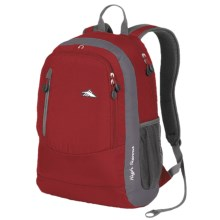 High Sierra Wilder Laptop Backpack in Carmine Red/Charcoal - Closeouts