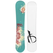 High Society Scarlet Snowboard (For Women) in 147 Graphic - Closeouts
