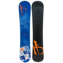 High Society Temerity Snowboard in 155 Graphic - Closeouts