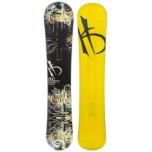 High Society Twin Snowboard in 151 Graphic - Closeouts