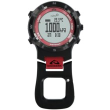 Highgear Altitech 3 Altimeter in Black/Red - Closeouts
