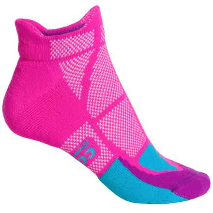 Hilly Cushion Socks - Ankle (For Women) in Pink Blue/Thistle - 2nds