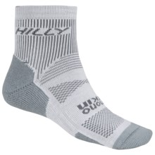 Hilly Padded Running Ankle Socks - CoolMax® (For Men and Women) in Grey/Silver - 2nds