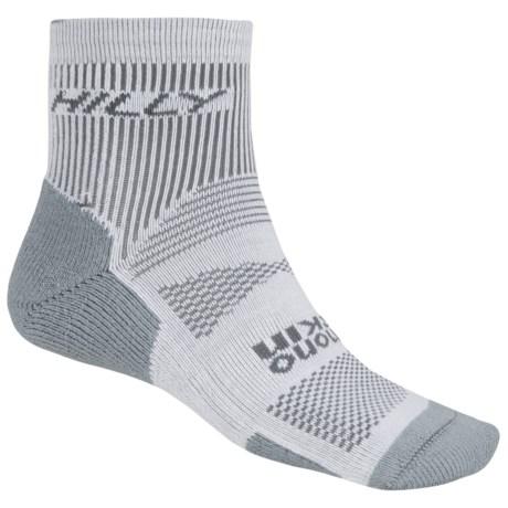 Hilly Padded Running Socks - CoolMax®, Ankle (For Men and Women)