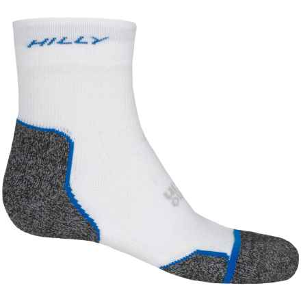 Hilly Supreme Multi-Sport Socks - Ankle (For Men and Women) in Grey/Sky - 2nds