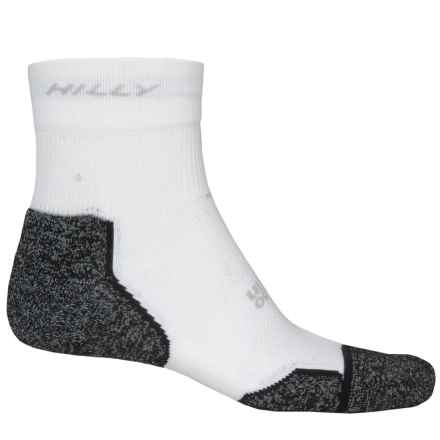 Hilly Supreme Multi-Sport Socks - Ankle (For Men and Women) in Slate/Black - 2nds