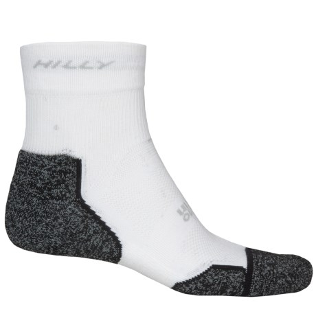 Hilly Supreme Multi-Sport Socks - Ankle (For Men and Women) in Slate/Black