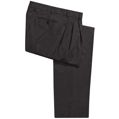 Hiltl Canton Pants - Wool, Pleats (For Men) in Beige