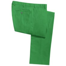 Hiltl Dayne Pants - Stretch Cotton (For Men) in Green - Closeouts