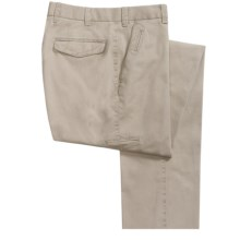 Hiltl Dirk Chino Nobile Pants (For Men) in Khaki - Closeouts