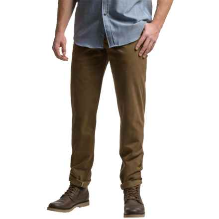 Hiltl Dolf Pants - Stretch Cotton (For Men) in Brown - Closeouts